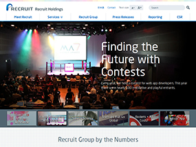 Recruit Holdings Global Website