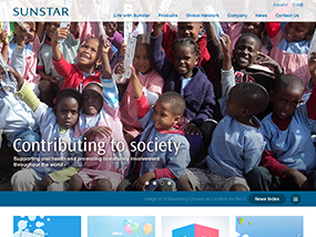 Sunstar Global Website