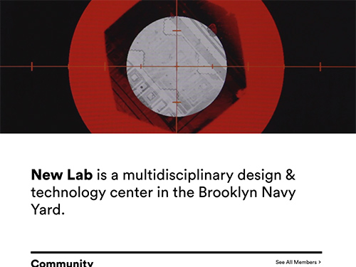 New Lab – A multidisciplinary