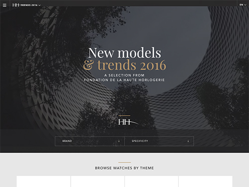New models and trends