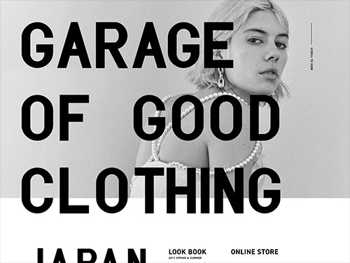 GRAGE OF GOOD CLOTHING JAPAN