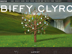 Official Biffy Clyro website