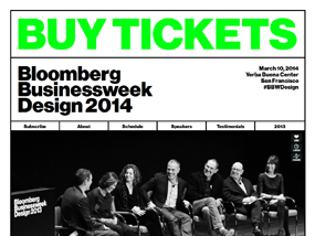 Bloomberg Businessweek Design Conference 2014