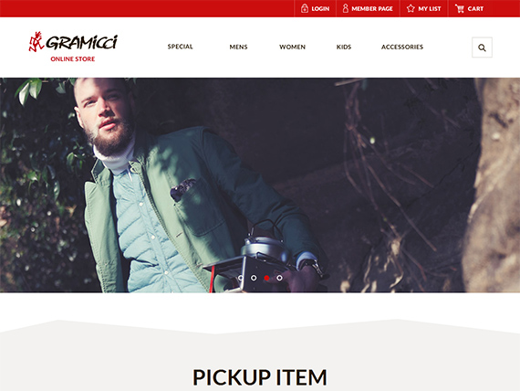 Gramicci Online Store