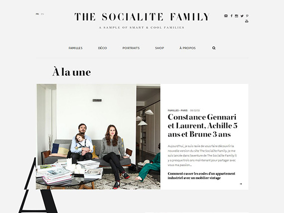 The Socialite Family I A SAMPLE OF SMART & COOL FAMILIES