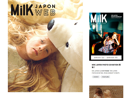 MilK JAPON WEB