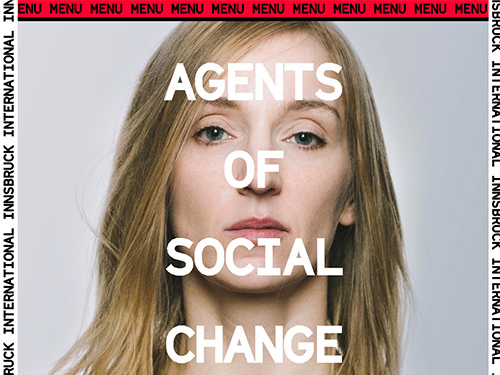 Innsbruck International 2018- Agents of social change