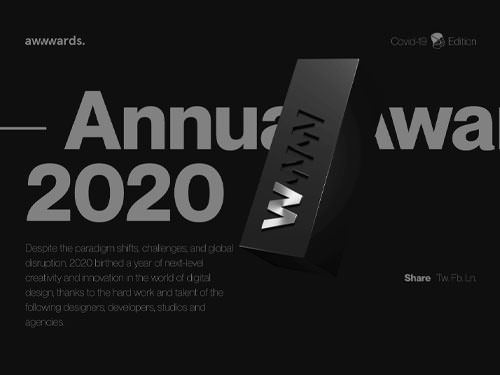 Annual Awards 2020